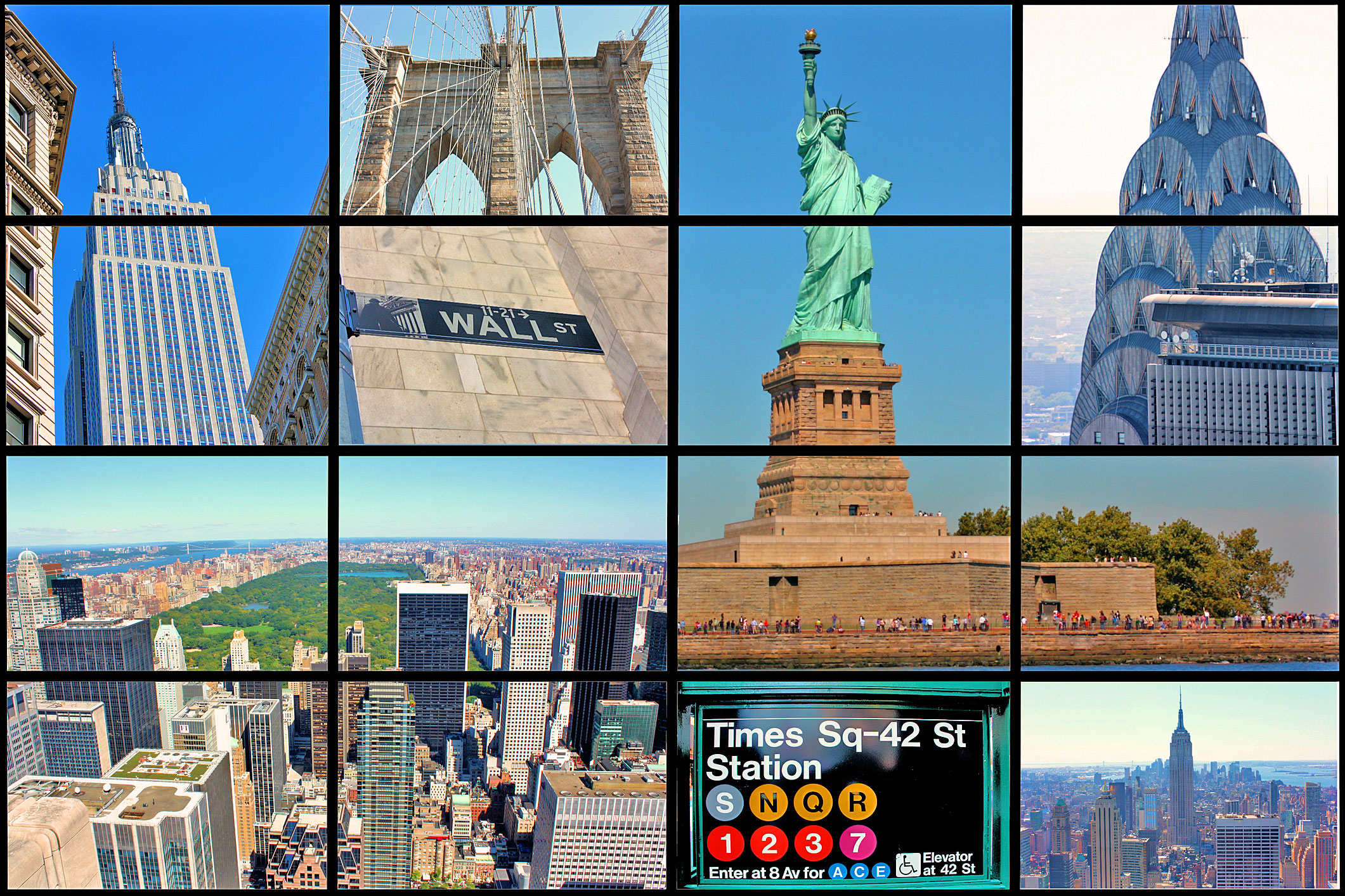 Nyc attraction passes nyc cheap travel for Must see attractions in new york city