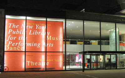 The New York Public Library for the Performing Arts at Lincoln Center. Photo by Kosboot (Own work) [CC BY-SA 3.0], via Wikimedia Commons